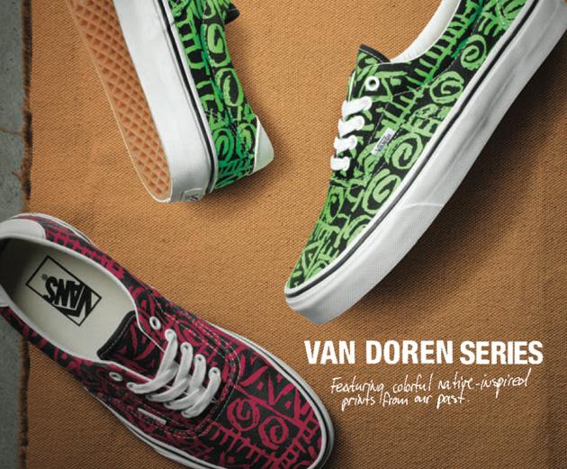 d8c6b8d0ab93d2 Vans Van Doren Tribal Pack - Sneakers.fr