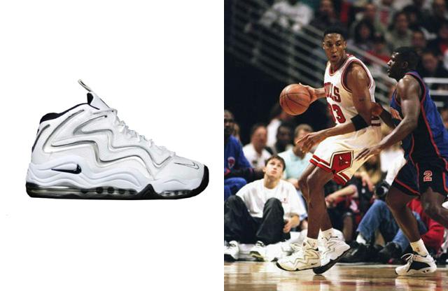 Focus : Scottie Pippen Sneakers