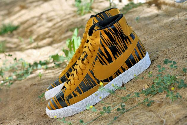 Penelope alcova solo  Nike Blazer Tigre - Disponible - Sneakers.fr