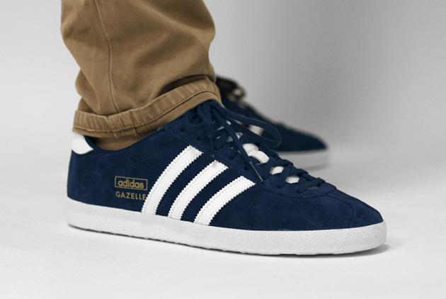 basket adidas gazelle bleu marine