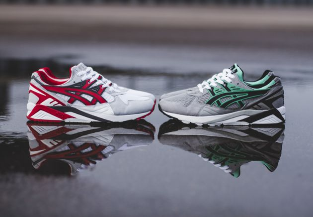 asics kayano trainer rouge