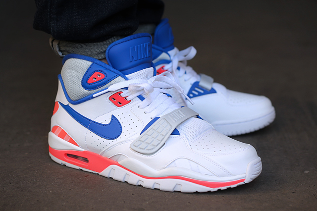 best value db13a 576cd the nike air trainer 3 gets a makeover  nike air trainer sc2 white blue  crimson 12us vnds