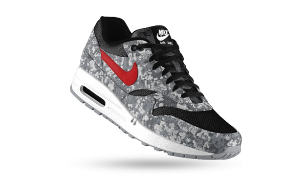 nouveau style 9fcc9 444be Nike Air Max 1 iD - Option Camouflage - Sneakers.fr