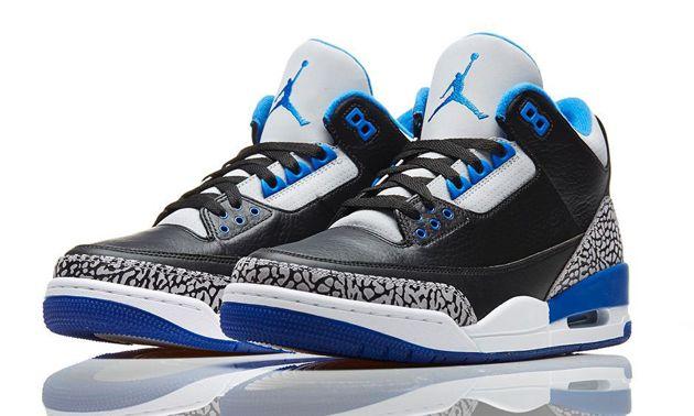 air jordan 3 noir et bleu