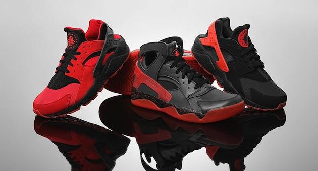 Huarache Nike Rouge
