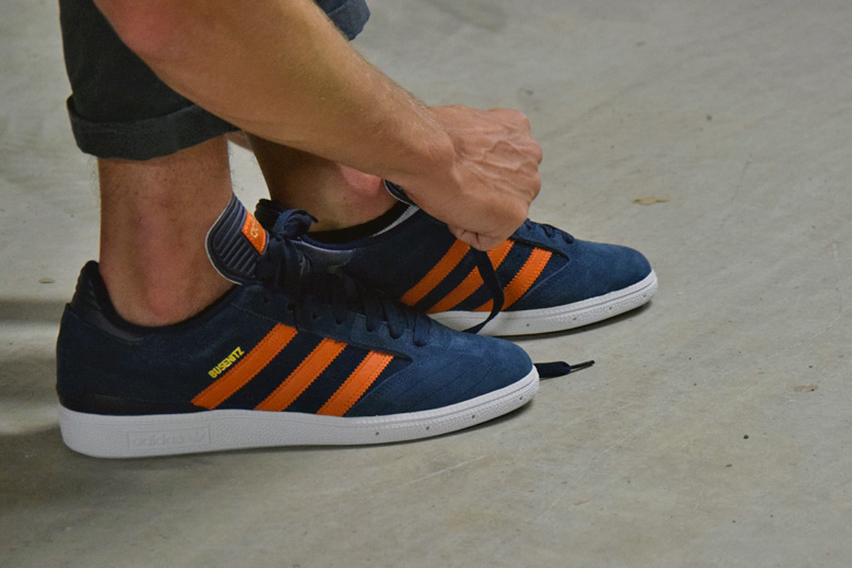 Adidas Orange Et Bleu