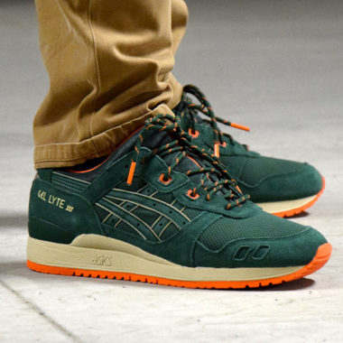 asics gel lyte 3 green