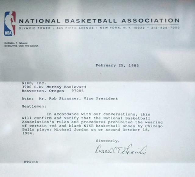 lettre nba nike michael jordan