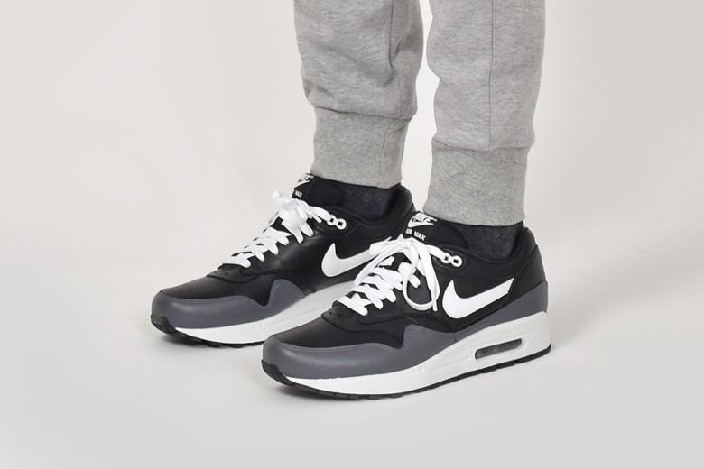air max 1 noir gris