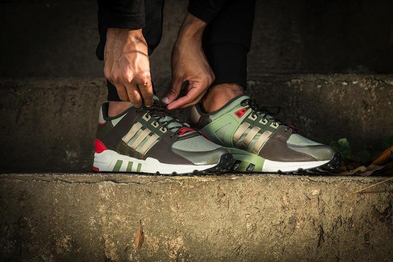 Adidas Eqt Support 93 Kaki