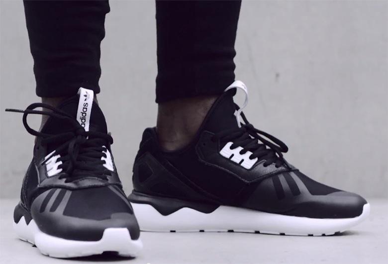 adidas tubular noir et blanche