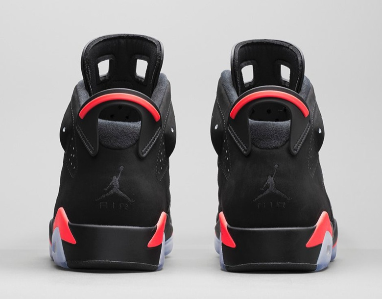 AIR JORDAN 6 RETRO 'BLACKINFRARED23'