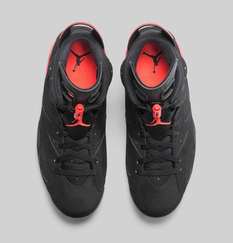 Cette Air Jordan 6 Black Infrared 23 sera mise en vente ce vendredi 28  novembre à 9h sur le NIKESTORE au tarif de 170€.