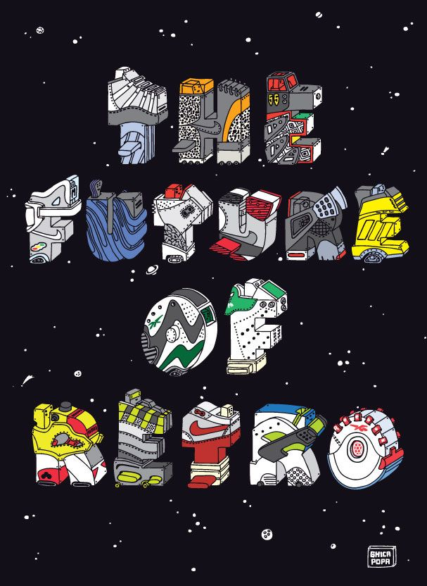 les illustrations de sneakers de ghica popa sneakers