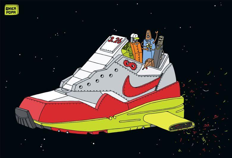 Les Illustrations De Sneakers De Ghica Popa Sneakers Fr
