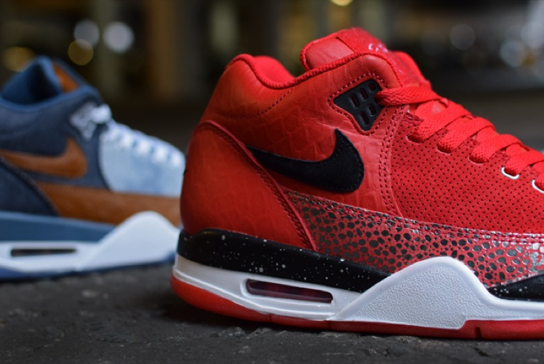nike flight squad red