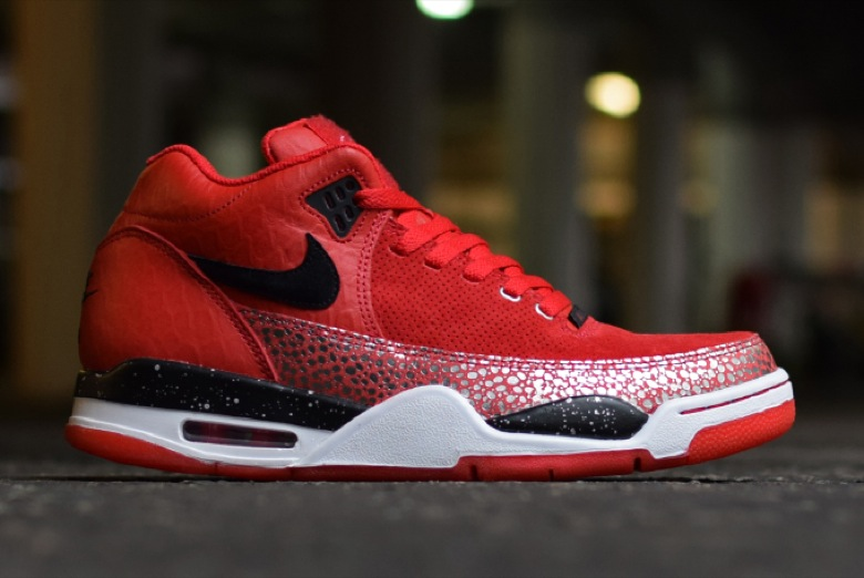 nike air flight squad rouge