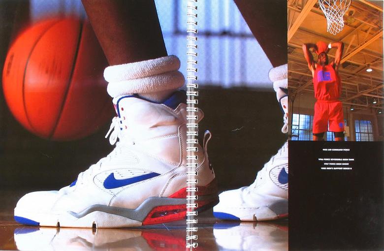 Nike Air Command Force (1990) David Robinson |