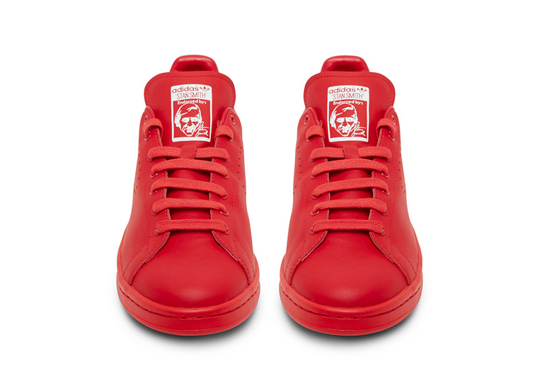 adidas stan smith raf simons rosse