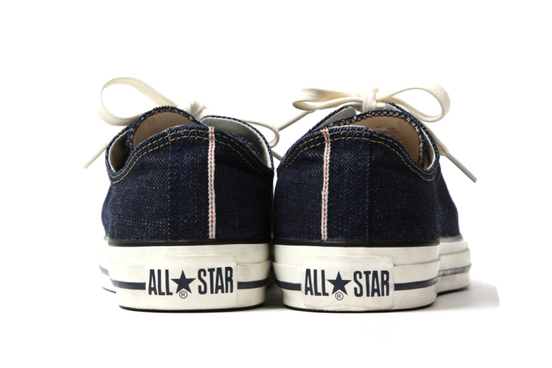 converse all star denim levis beams