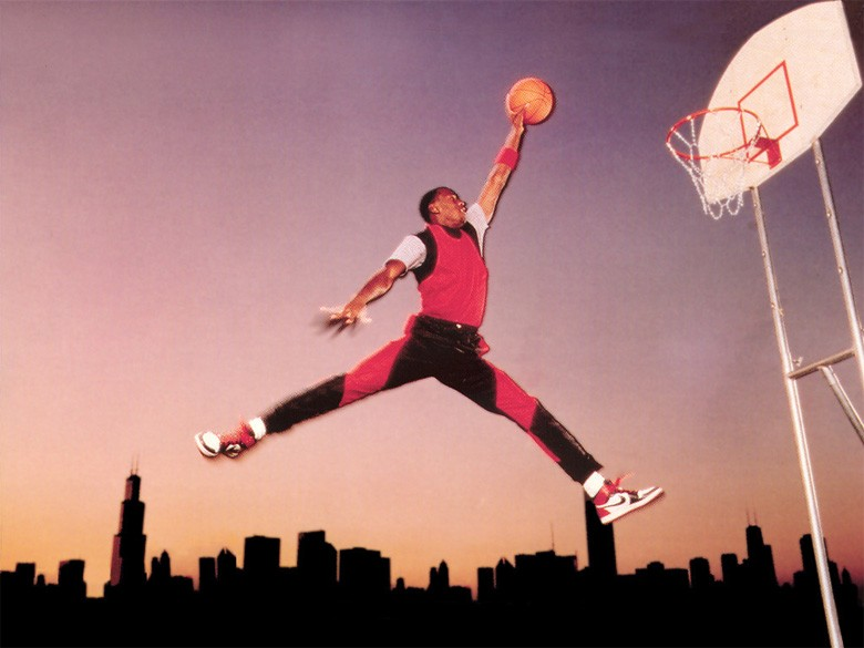 jordan chicago skyline nike