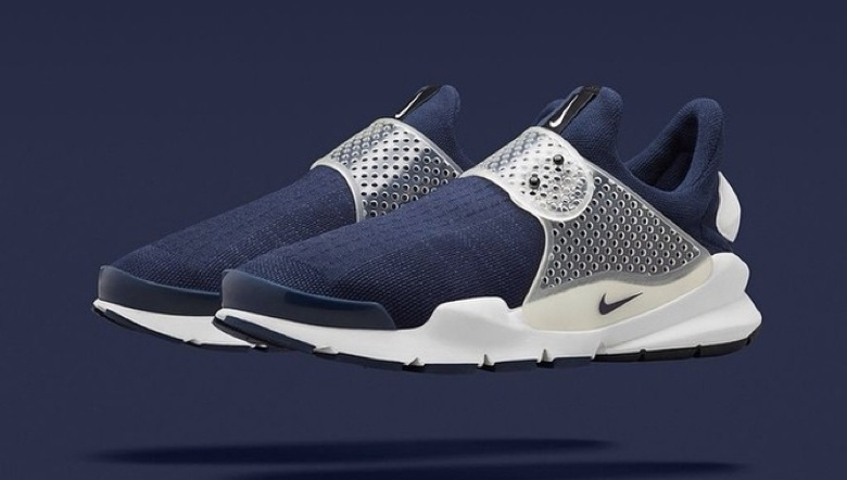 nike sock dart fragment navy