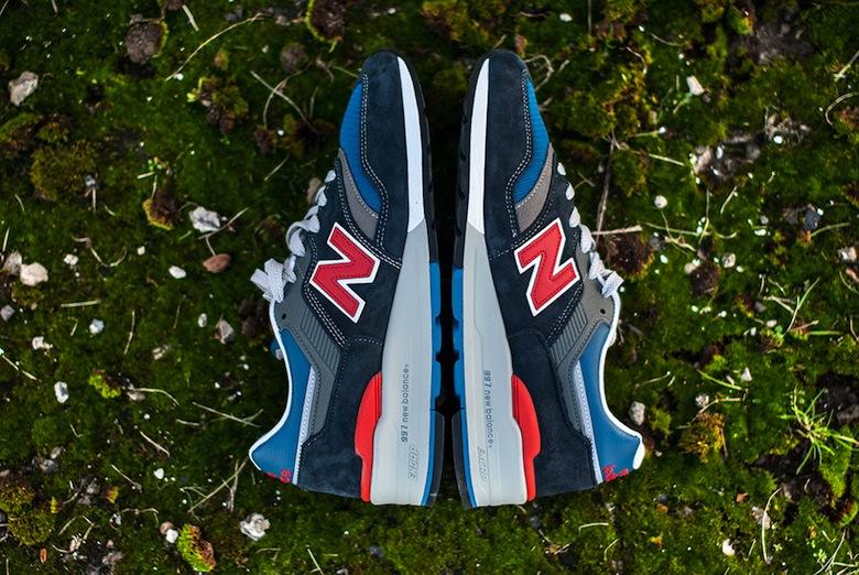 Ces deux paires de New Balance 997 sont disponibles sur notre boutique en  ligne SNKRS. af5f92e64167