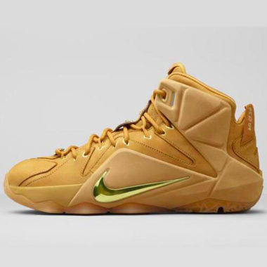 nike lebron 12 wheat