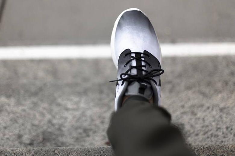 Nike Roshe Run Print Noir blanc