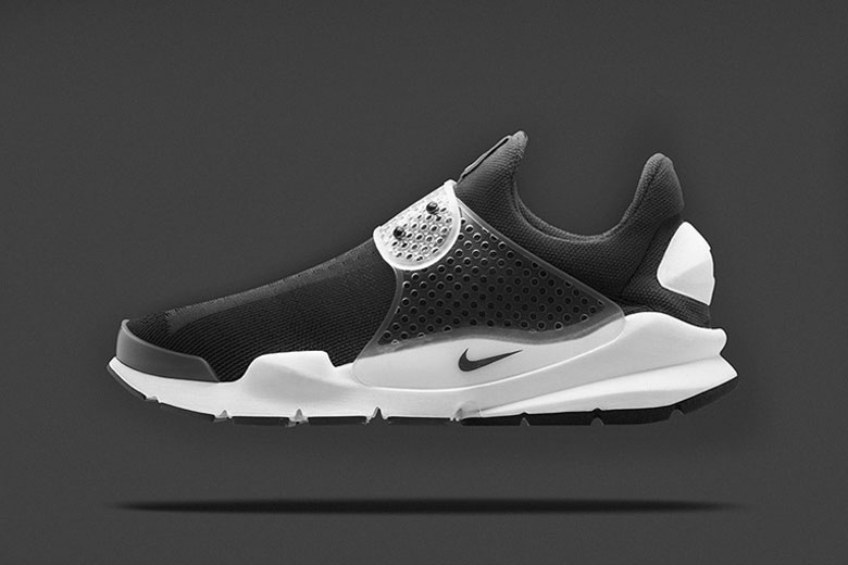 nike sock dart black fragment