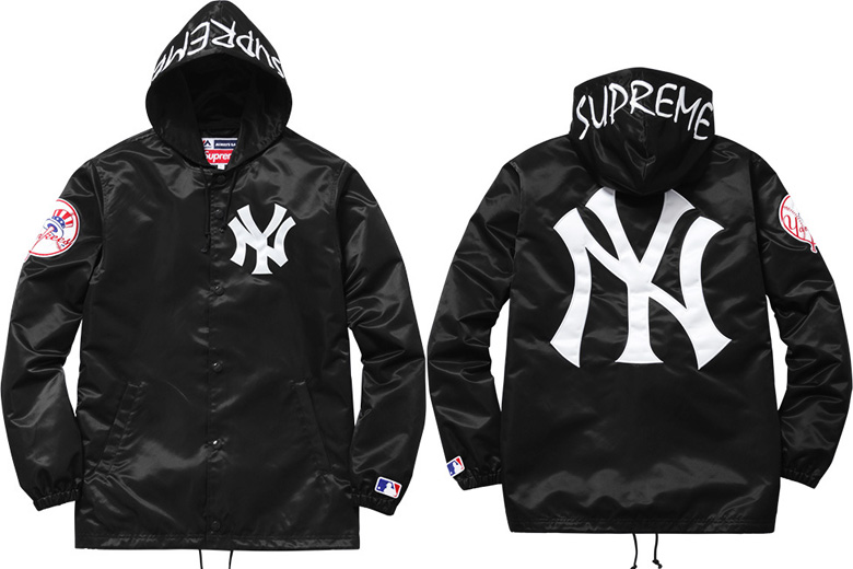 Collection Supreme X New York Yankees Sneakers Fr