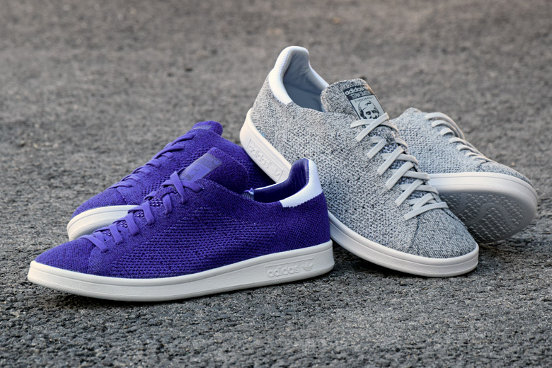 Adidas Stan Smith Primeknit Grey