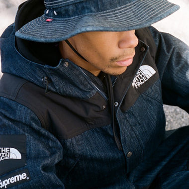 supreme north face été 2015
