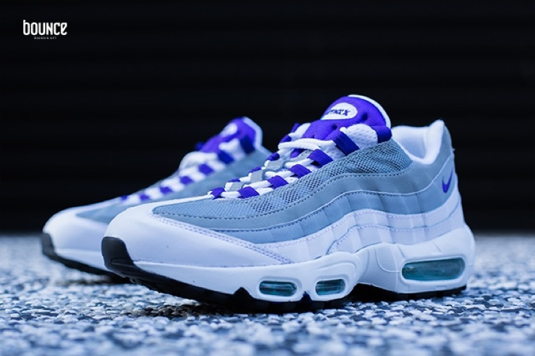 nike air max 95 white grape
