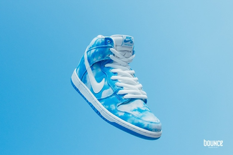nike sb dunk clouds