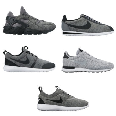 newest 8b9fe 5b4c6 Nike Tech Fleece Pack Sneakers