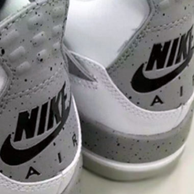 air jordan 4 white cement gs