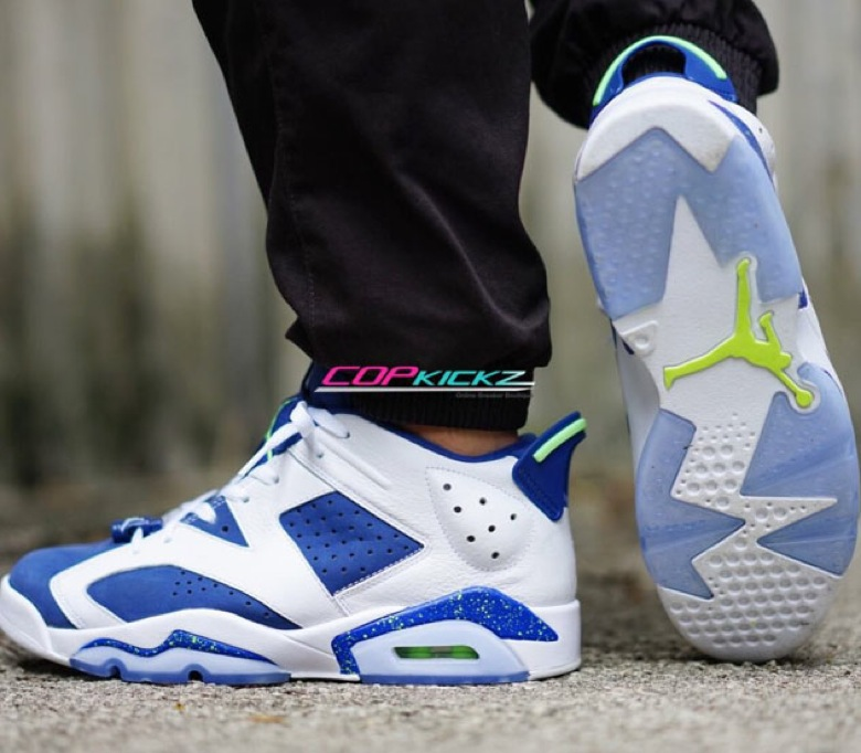 70cde70f6a9f Air Jordan 6 Low Ghost Green