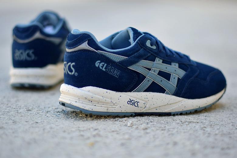 site réputé 4337a 8aef8 Asics Gel Saga Navy/Goblin Blue - Sneakers.fr