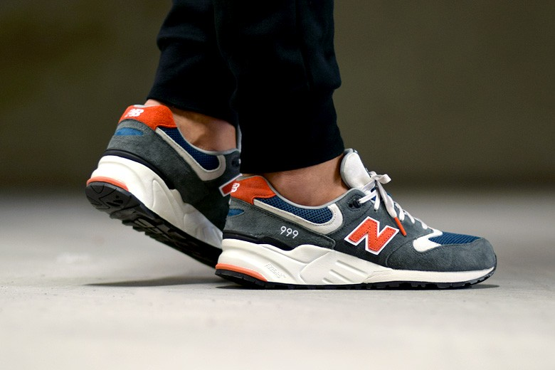 new product a02c0 16616 new balance 999 orange grey