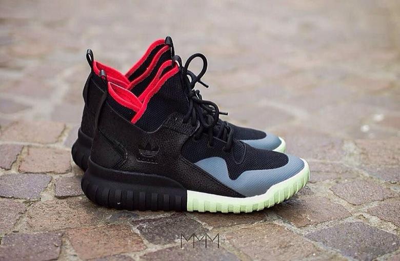 adidas tubular yeezy custom-2