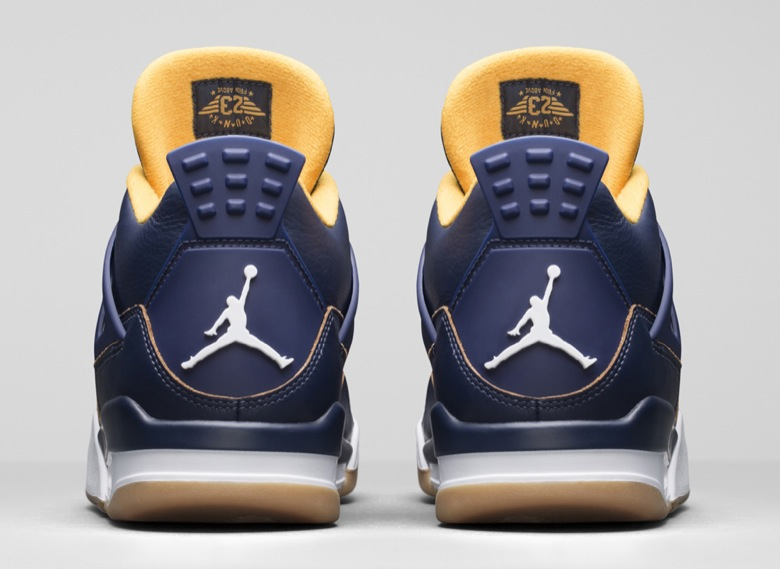 air jordan 4 dunk from above 2016-2