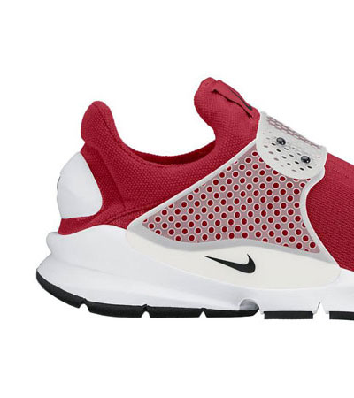 nike sock dart rouge
