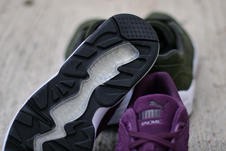ec60df55b85 Puma R698 Allover Suede - Plum   Forest - Sneakers   Street Culture ...