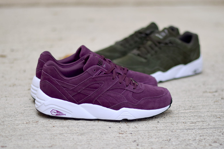 plus de photos 7449a 1de08 puma r698 bordeaux