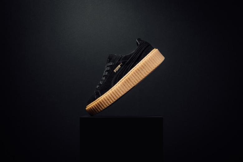 Puma Rihanna Chaussure Noir