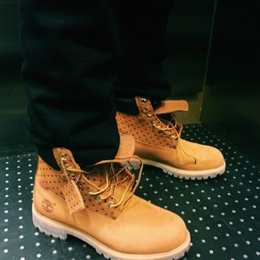 supreme timberland comme des garcons