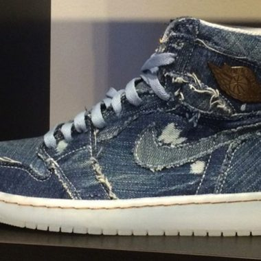 air jordan 1 denim