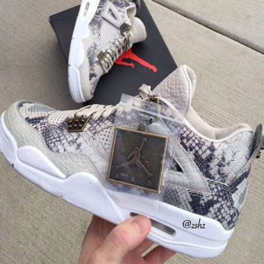 air jordan 4 snake pinnacle
