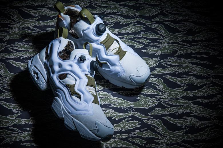 Reebok insta pump fury tiger camo pack sneakers fr